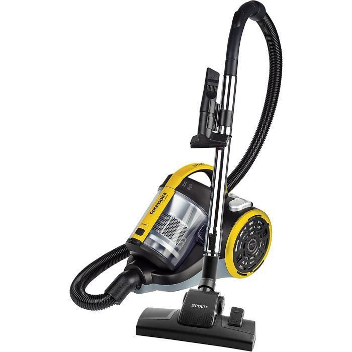 Cliquez pour ouvrir le point de vue élargi Etiquette énergétique Polti Forzaspira C115_Plus, aspirateur cyclonique, double