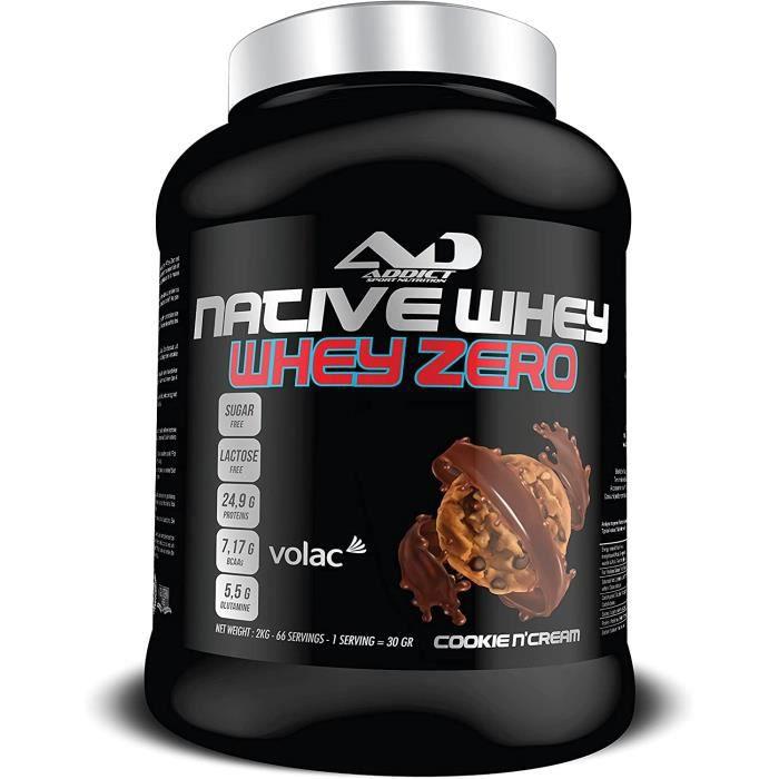 Whey Protein Isolate Protéines Whey Zero En Poudre Proteines Musculation Prise De Masse Pour Développement Musculaire Native Wh 390