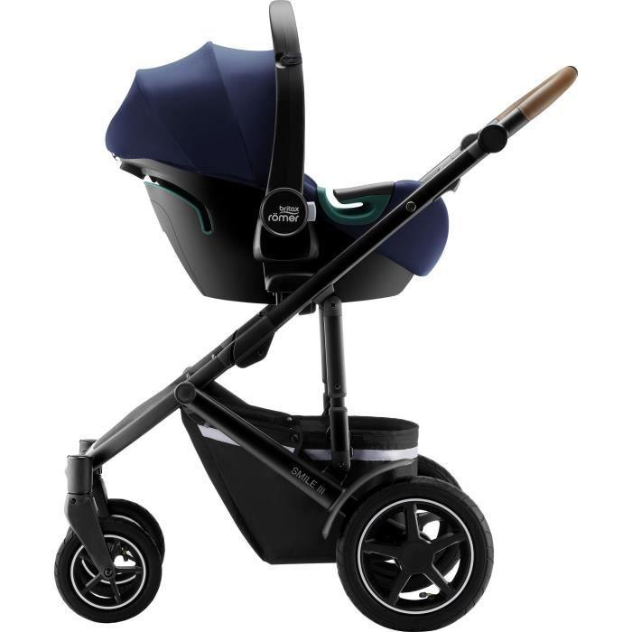 Britax Romer Siège auto BABY-SAFE 3 i-SIZE, Groupe 0+ , Indigo Blue