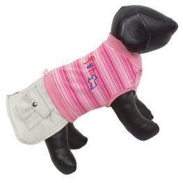 T-shirt Lolita pour chien L.32cm rose