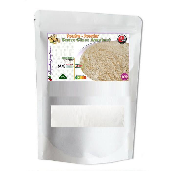 Sucre Glace Amylacé - sélection panafricaine - 500g