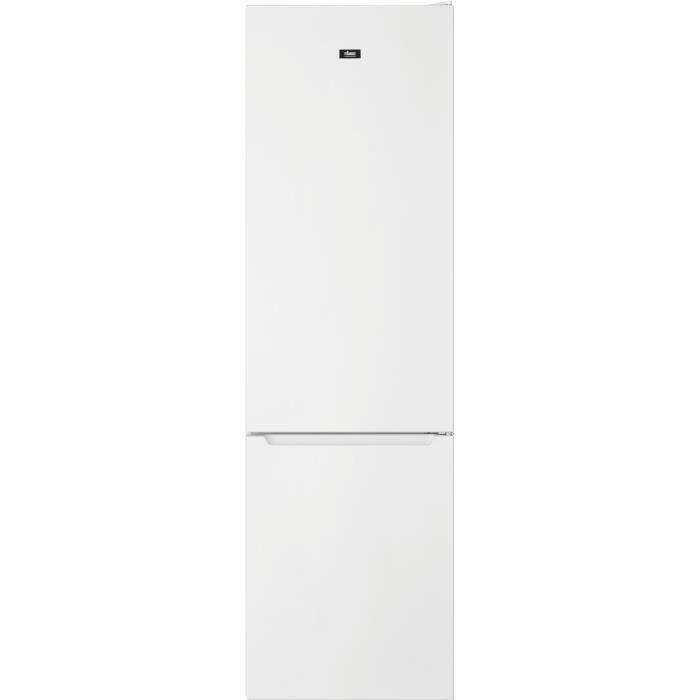 FAURE FCBE36FW0 - Réfrigérateur congélateur bas - 360L (266+94)- Froid ventilé - No Frost - H201 x L60cm - Blanc