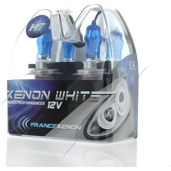 2 x Ampoules H7 100W 6000K HOD Xtrem - FRANCE-XENON