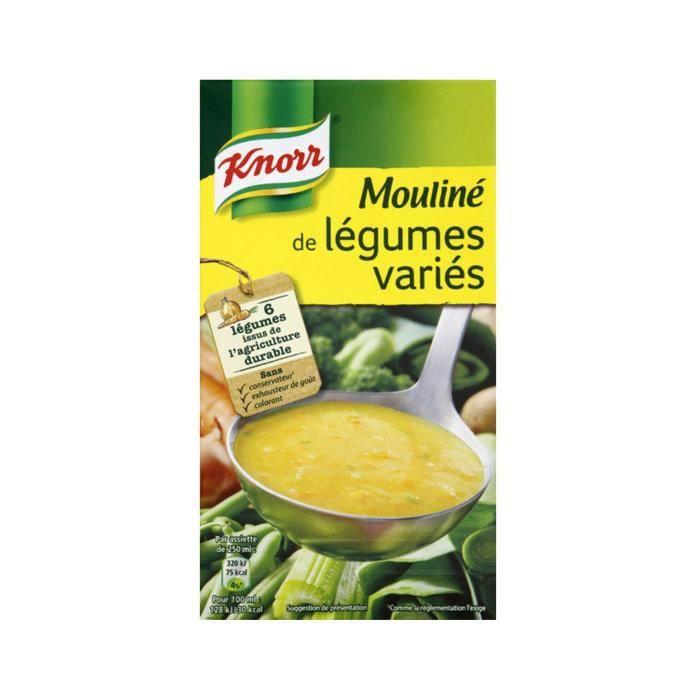 Mouliné de légumes variés 1 L Knorr