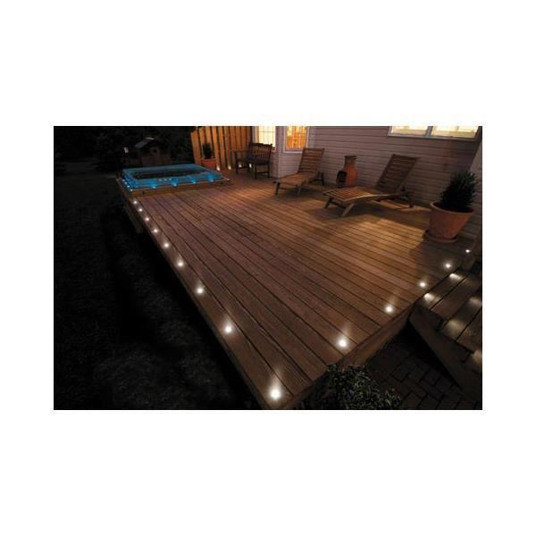 Kit spots LED encastrables ultra-plats - Blanc Froid (6000K) - 6 spots LED - Sans Télécommande