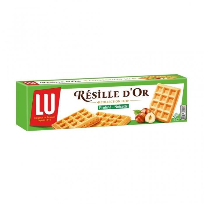 LU Résille d'Or Collection Lu Praliné Noisette 110g (lot de 6)