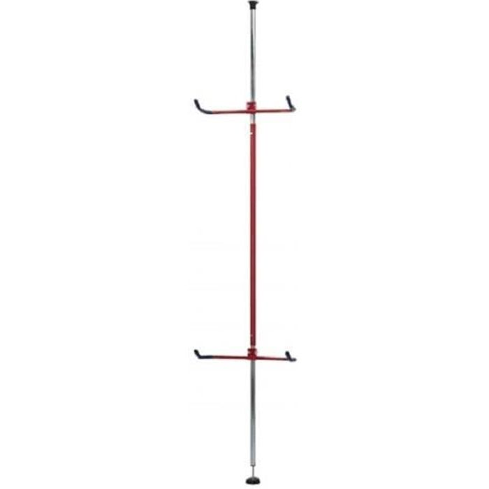 Range 2 vélos sol/plafond Mottez B137P