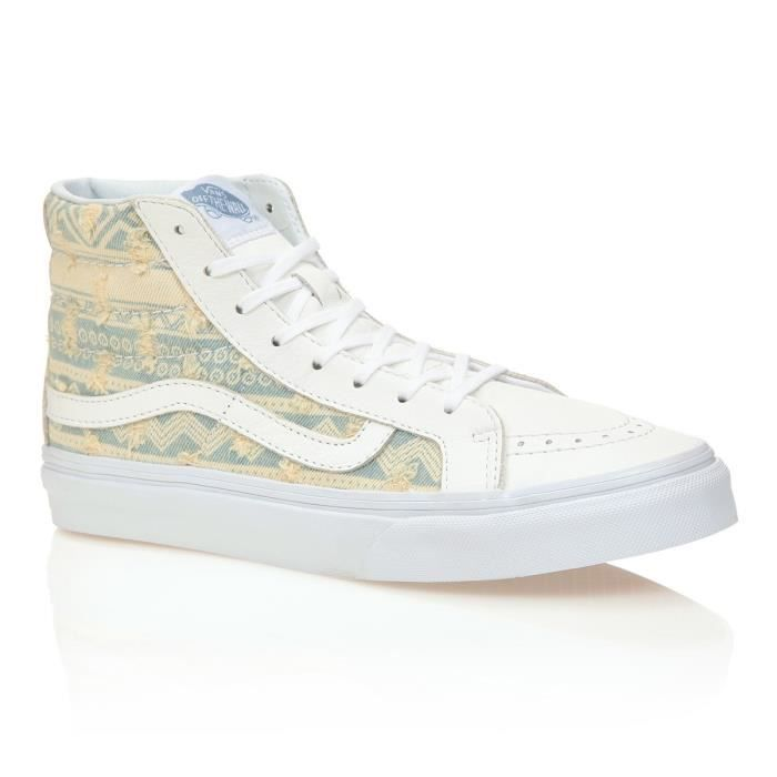 VANS Chaussures Sk8-Hi Slim Frayed Native Femme