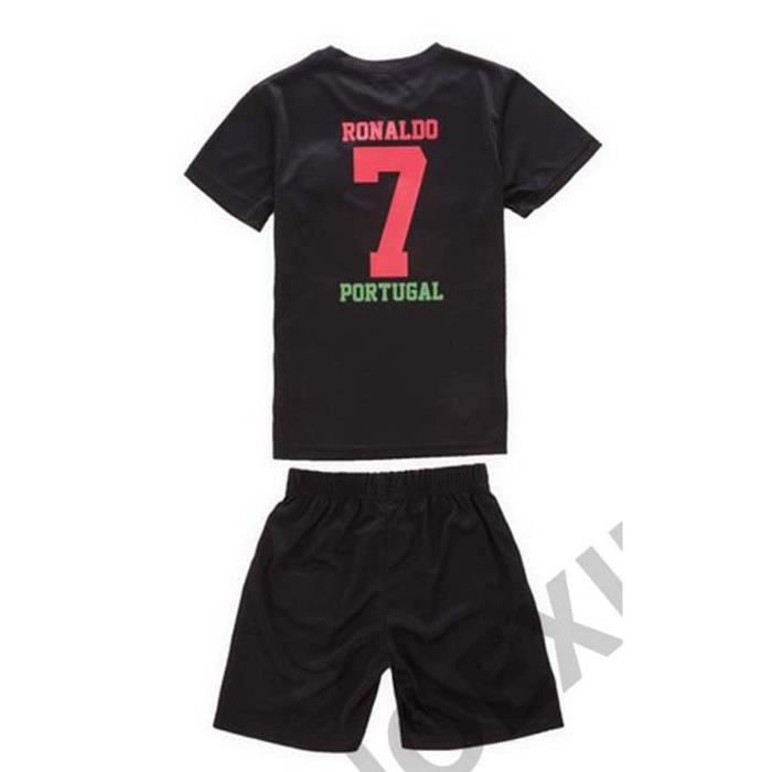MAILLOT DE FOOT PORTUGAL RONALDO SHORT N°7