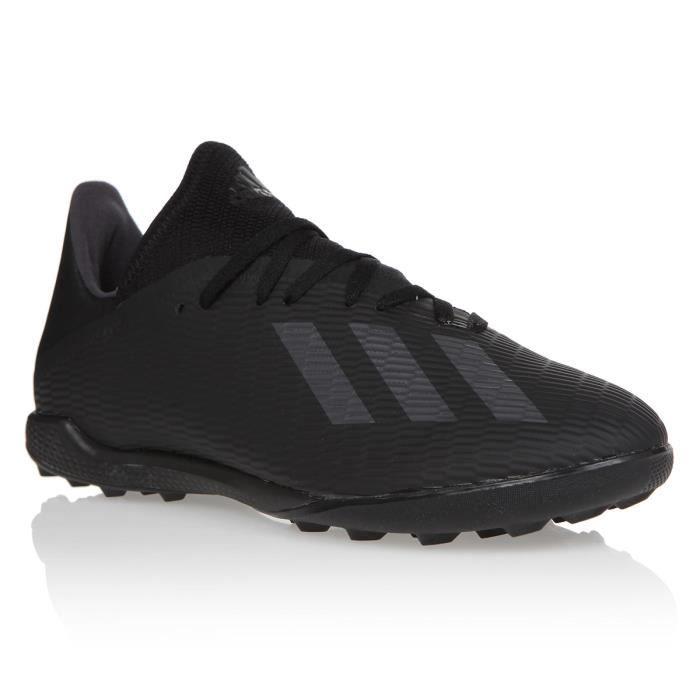 ADIDAS PERFORMANCE Chaussures de Football X19.3 TF - Homme - Noir/Argent