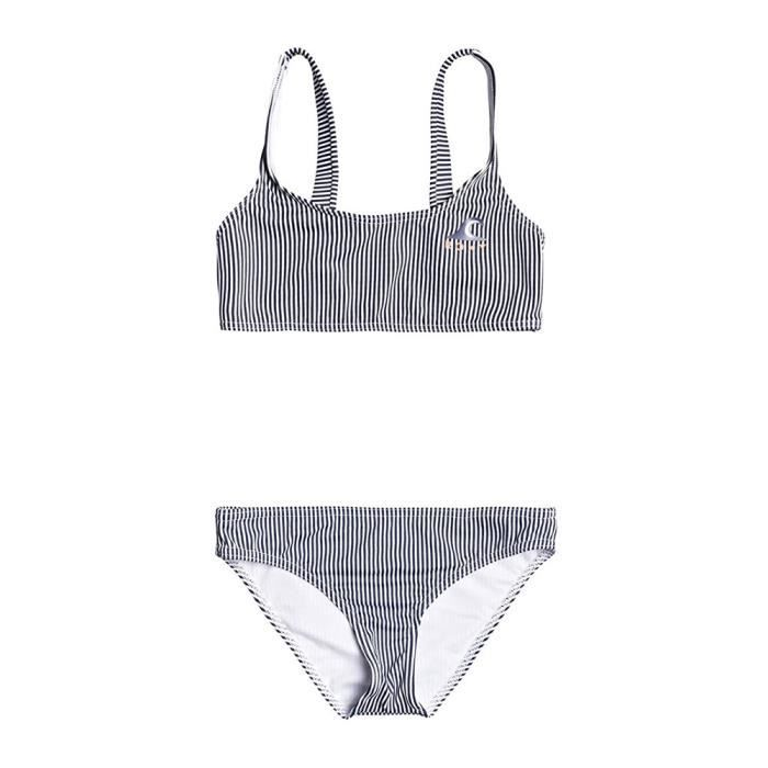 Maillot de Bain Rayures 2 Pièces Fille Roxy EARLY