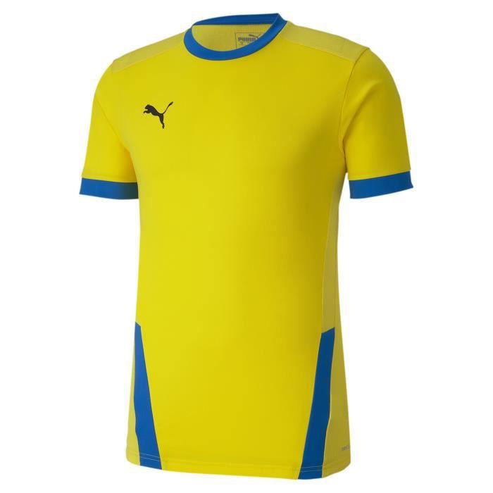 Maillot Puma Team Goal 23 - jaune or/bleu électrique - XS