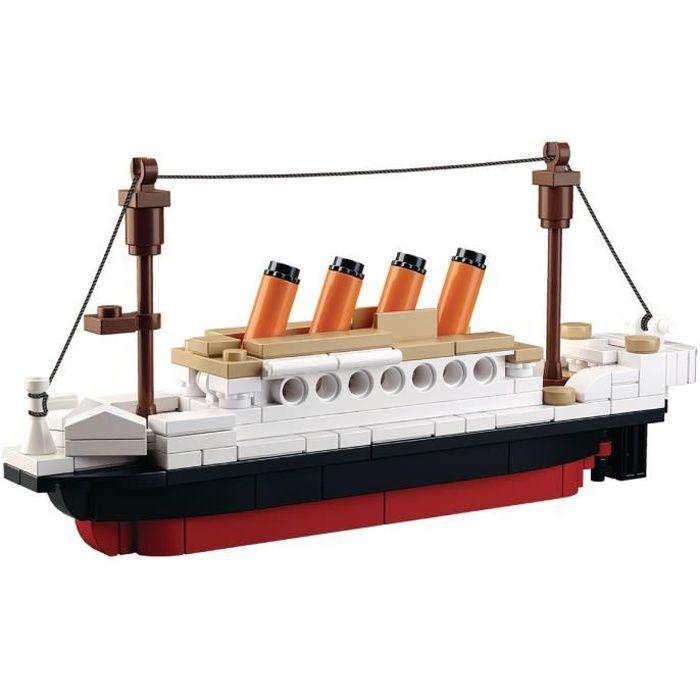 Briques Compatibles Lego - Construction - Serie Titanic petit format - Sluban