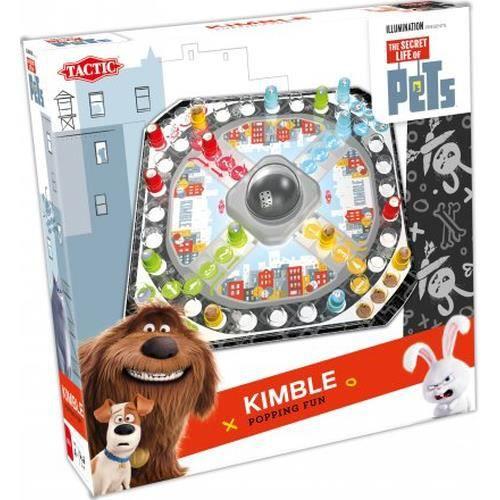 Tactic Secret Life of Pets Kimble, Jeu de plateau de course, Enfants, 15 min, Garçon-Fille, 4 année(s), 99 année(s)