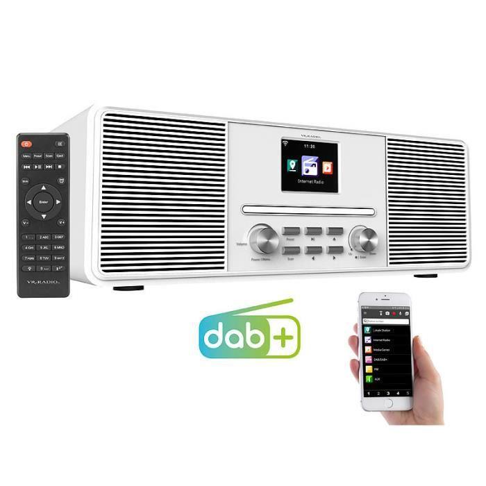 Radio Internet stéréo 20 W IRS-680 - Blanc