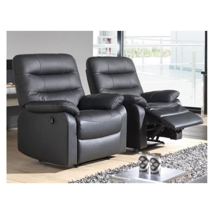 fauteuil relax lectrique camal microfibre gris taupe achat vente meuble tv fauteuil relax. Black Bedroom Furniture Sets. Home Design Ideas