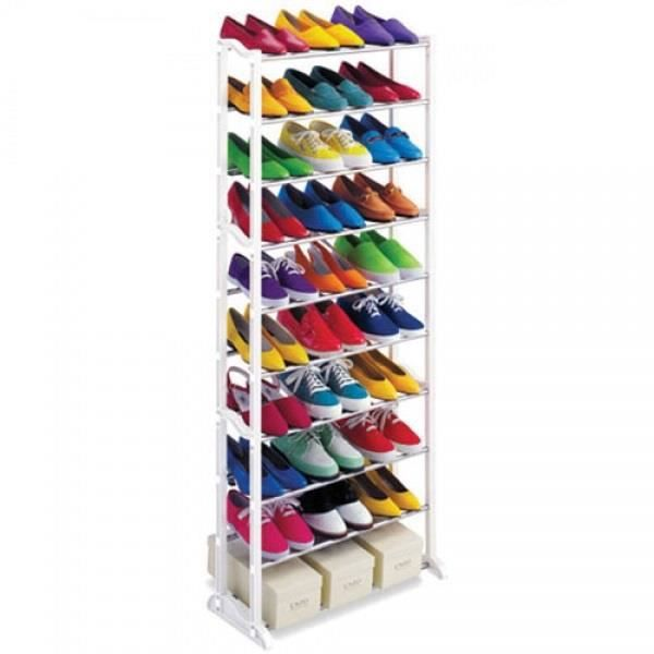 Rangement chaussures 30 paires for Meuble a chaussure 30 paires