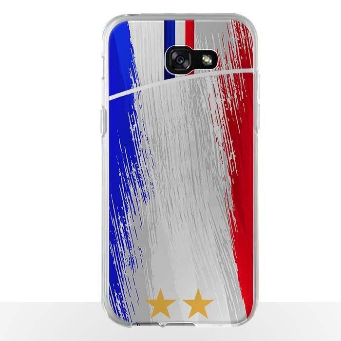Coque Samsung A5 2017 FootBall France - Supportez