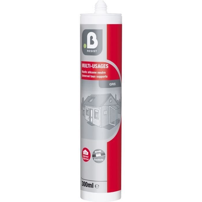 NETTOYAGE MULTI-USAGE Silicone multi-usage gris Mr Bricolage