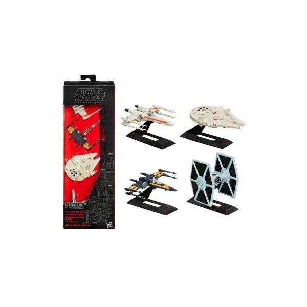 FIGURINE - PERSONNAGE Figurine Star Wars Black Series 2015 - Pack de 4 m