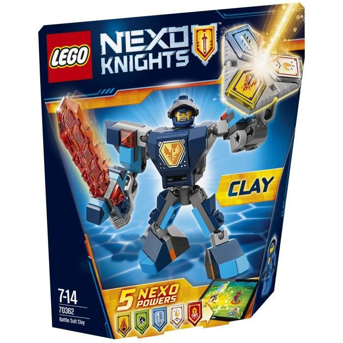 Lego Nexo Knights cartes de collection série 2-25-super puissant merlok 2.0 Héros