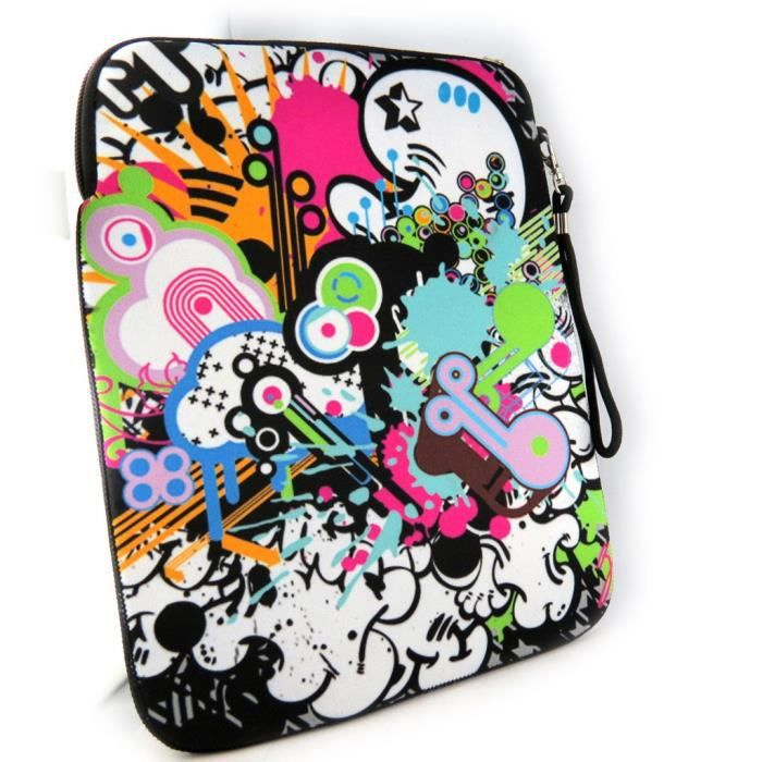 Housse tablette ipad graffiti n opr ne 10 achat for Housse neoprene ipad