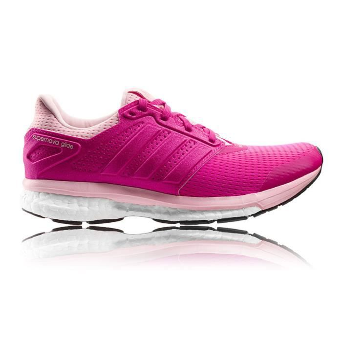 quality design 209b1 20607 Adidas Supernova Glide Boost 8 Femme Chaussures De Course À Pied Rose