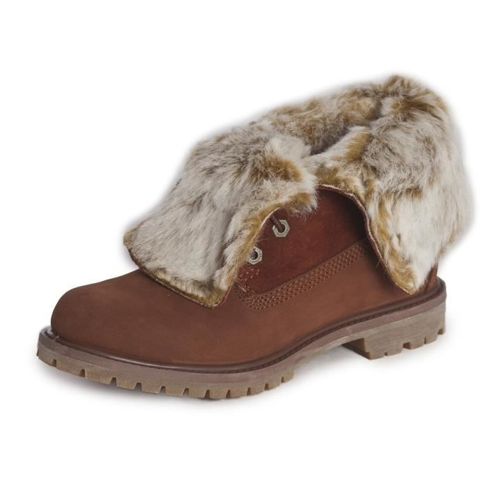 Boots Timberland Authentics Faux Fur Fold Down CA19D2