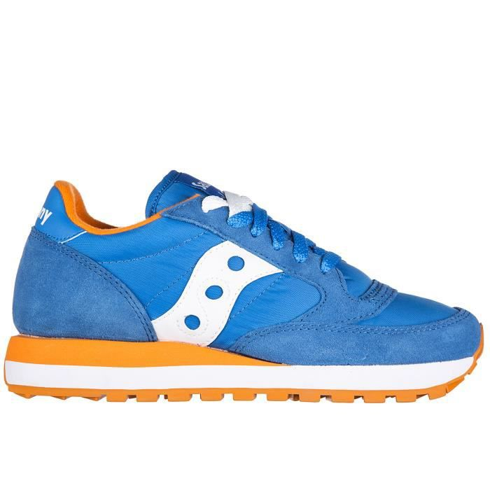 Chaussures baskets sneakers femme en daim jazz original Saucony