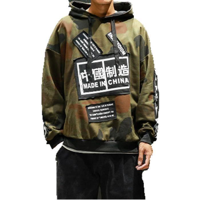 sweat shirt homme hip hop