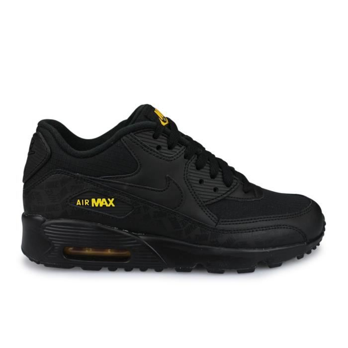 Nike Air Max 90 LTR BG Junior Noir Noir NOIR - Cdiscount Chaussures