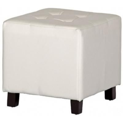 pouf pu capitonn blanc achat vente pouf poire cdiscount. Black Bedroom Furniture Sets. Home Design Ideas
