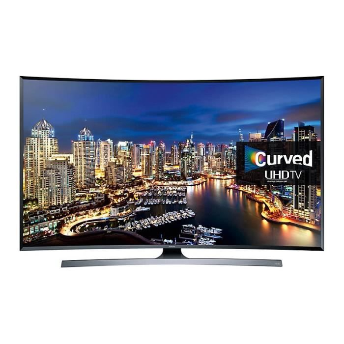 tv led samsung 4k ue40ju6500 incurve 101 cm t l viseur led avis et prix pas cher cdiscount. Black Bedroom Furniture Sets. Home Design Ideas