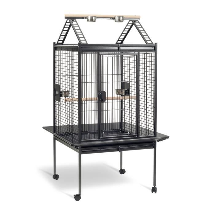 cage perruche et perroquet kubeo 96xl grise achat vente voli re cage oiseau cage perruche. Black Bedroom Furniture Sets. Home Design Ideas