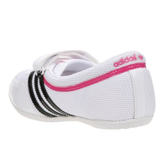 new product 2df71 7e0f7 ADIDAS Baskets Concord Round W Femme Blanc noir rose - Achat  Vente basket  - Cdiscount