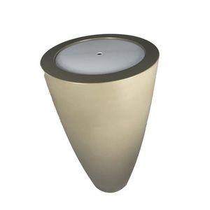 JARDINIÈRE - BAC A FLEUR Pot conique Delight 3-en-1 - Table de cocktail Ple