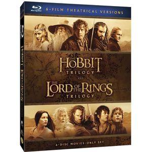 BLU-RAY FILM Blu-Ray Le Hobbit et Le Seigneur des Anneaux, les