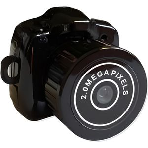 CAMÉRA MINIATURE Mini appareil photo espion noir