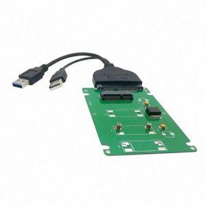 BOITIER POUR COMPOSANT Chenyang USB 3.0 à SATA 22pin 2.5