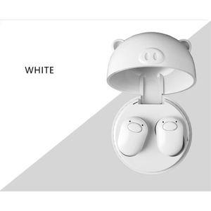 CASQUE - ÉCOUTEURS Oreillettes sans fil TWS Mini Bluetooth 5.0 stéréo