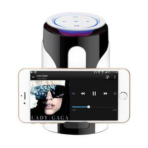 ENCEINTE NOMADE LED Bluetooth Haut-parleur sans fil portable Lumiè