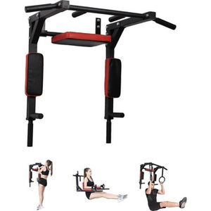 BARRE POUR TRACTION PullUpFitness-Barre de Traction Murale-Chaise Roma