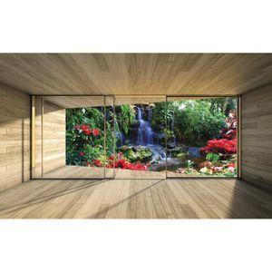 368x254cm Géant papier peint Papier peint photo Parc Vert chambre Wall Decor