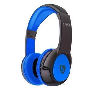 CASQUE - ÉCOUTEURS OVLENG Bluetooth casque Portable sans fil casque a