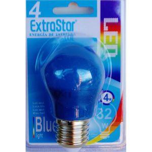 AMPOULE - LED Ampoule LED BLEU E27 a visse basse consommation 4W