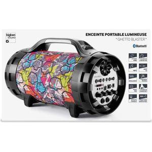 ENCEINTE NOMADE Enceinte portable lumineuse bluetooth BT50 Graff B