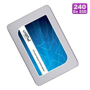 """DISQUE DUR SSD Disque Dur 240Go SSD SATA III 2.5"""" CRUCIAL BX300 C"""