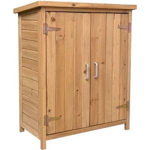 ETABLI - MEUBLE ATELIER Armoire extérieur en bois Gardiun Abby 75x40x90 cm