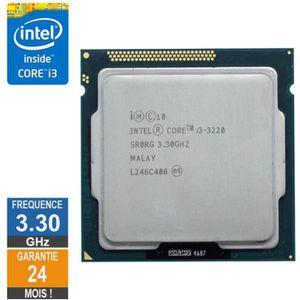 PROCESSEUR Processeur Intel Core i3-3220 3.30GHz SR0RG LGA115