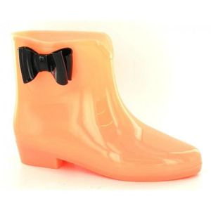 BOTTINE Spot On - Bottines de pluie phosphorescentes - Fem